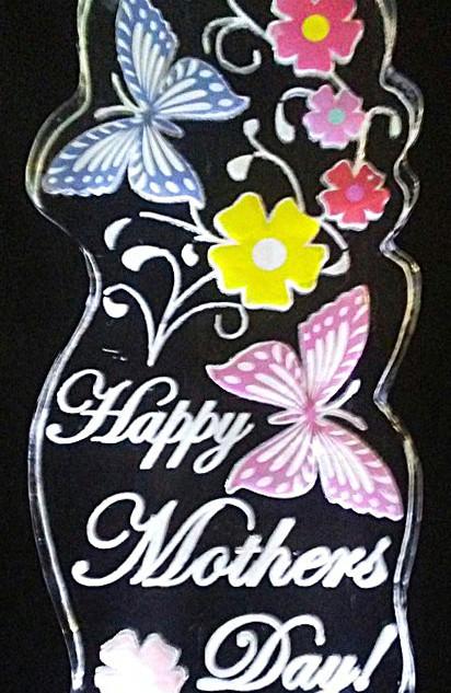 Mother's Day Ice Sculpture Butterflies