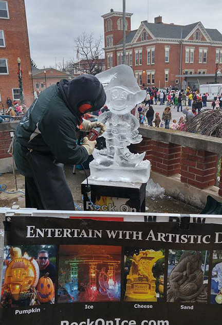 Ice Carving Demonstrations