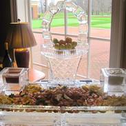 Shrimp Display with Easter Basket