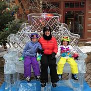 Ice Sculpture Throne