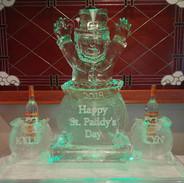Ice Sculpture St. Patrick's Day