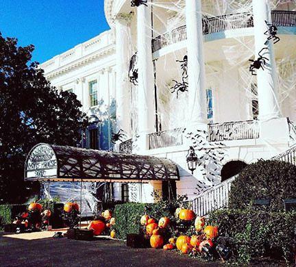 Pumpkin Carving at The White House