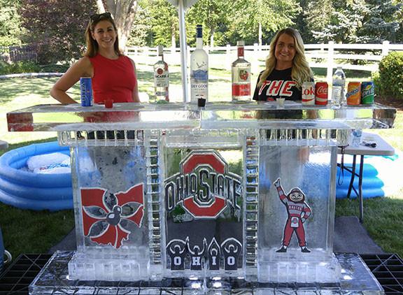 Ohio State Buckeyes Ice Bar