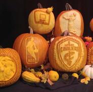 Cleveland Cavaliers Pumpkins