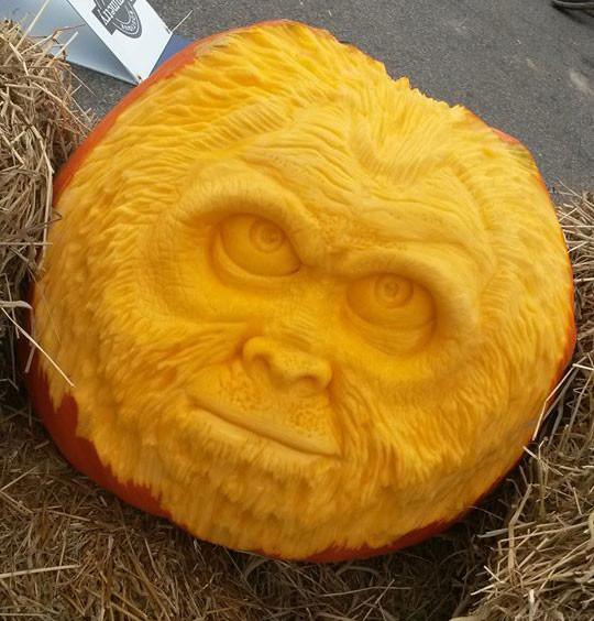 Bigfoot Pumpkin Carving