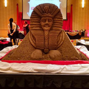 Sand Sculpture of Sphinx