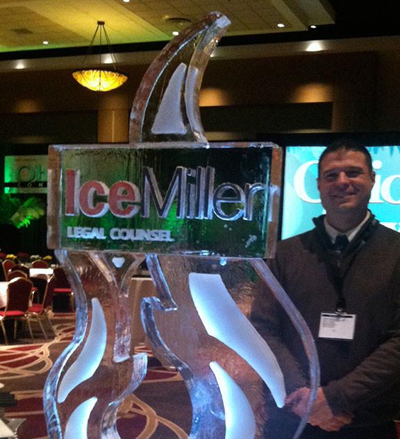 Ice Miller Ice Sculpture