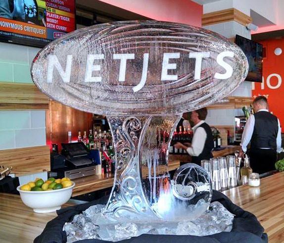 NetJets Ice Sculpture