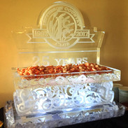 Shrimp Tray Ice Sculpture