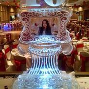 Sweet 16 Ice Sculpture