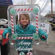 Candy Cane Ice Frame