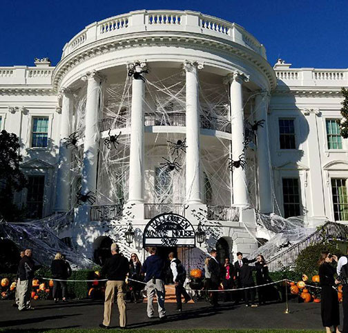 The White House Pumpkin Carving