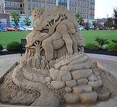 Sand-Sculpture-Gorilla-in-Jungle-Front.j