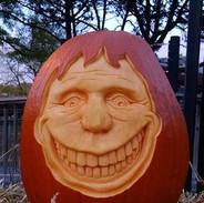 Happy Face Pumpkin Carving