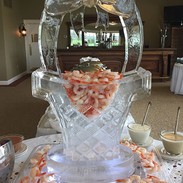 Easter Ice Sculpture 3D Basket