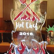 Hot Chef Ice Sculpture