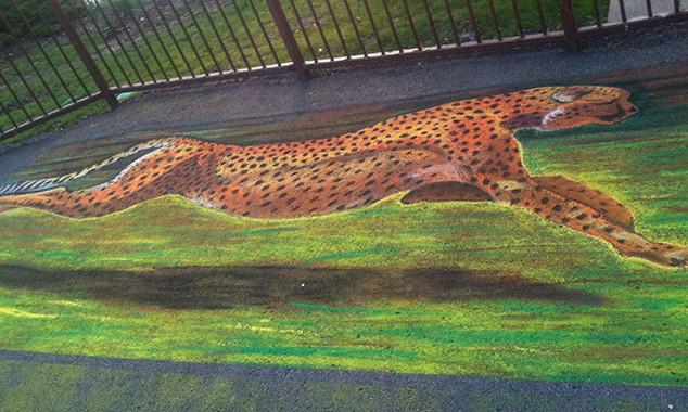 Chalk Demonstration of Jaguar