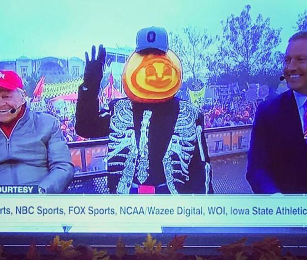 Brutus Buckeye for ESPN