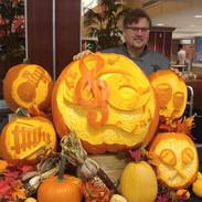 Musical Pumpkin Display