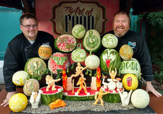 The Food Artist Group Fruit and Veggie Carving