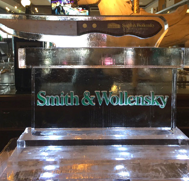 Smith & Wollensky Ice Sculpture