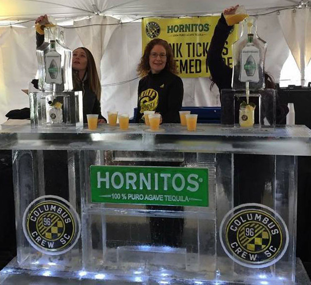 Ice Bar for Columbus Crew