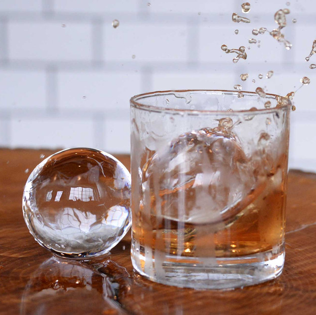 Cocktail Ice Spheres