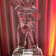 Brutus Buckeye Ice Sculpture