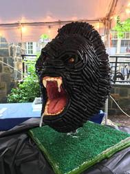 Gorilla Candy Sculpture