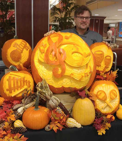 Pumpkin Carving Display