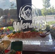 Wendy's Ice Sculpture