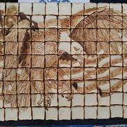 Bread Sculpture Bald Eagle
