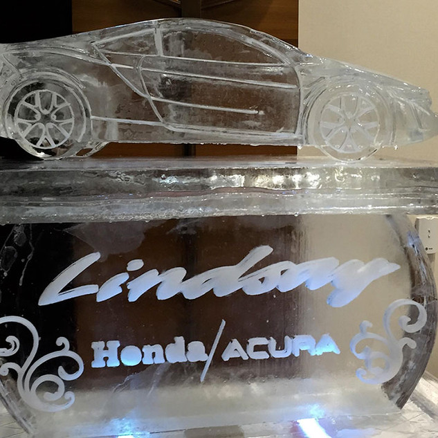 Lindsay Ice Sculpture