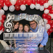 Ice Sculpture of Piano