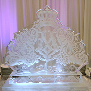 Customized Wedding Ice Sculpture