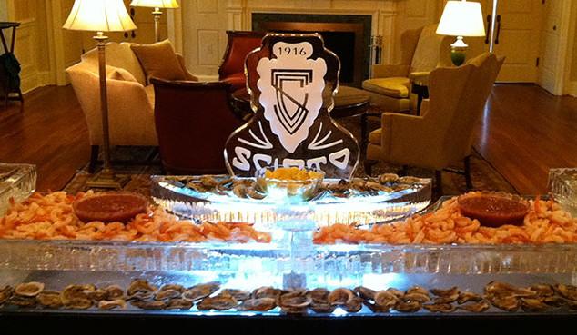 Seafood Ice Display