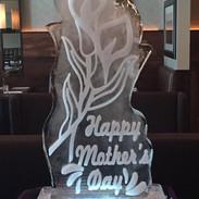 Ice Sculpture Lilies