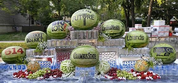 Fruit Carving Taste the Future Logos
