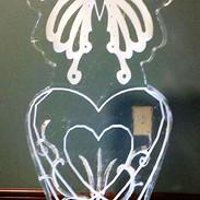 Butterfly on Heart