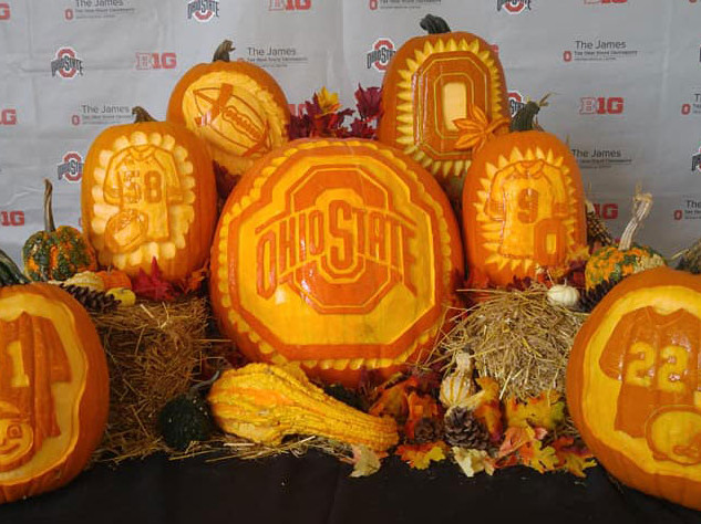 Ohio State Pumpkin Display