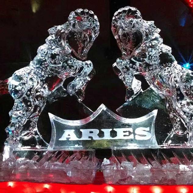 Aries Ice Sculpture