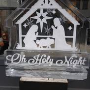 Ice Sculpture Holy Night