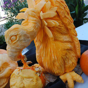 Vulture Pumpkin Carving