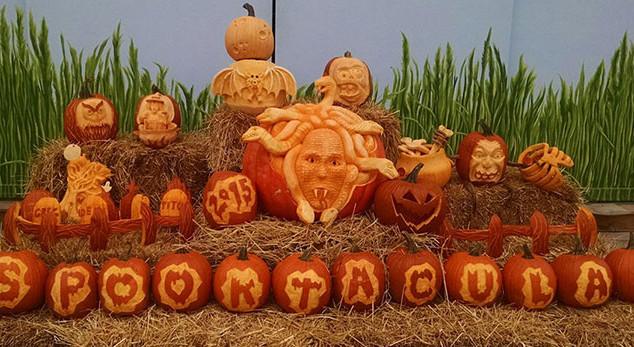 Large Display Pumpkin Carving