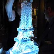 Eiffel Tower Ice Luge