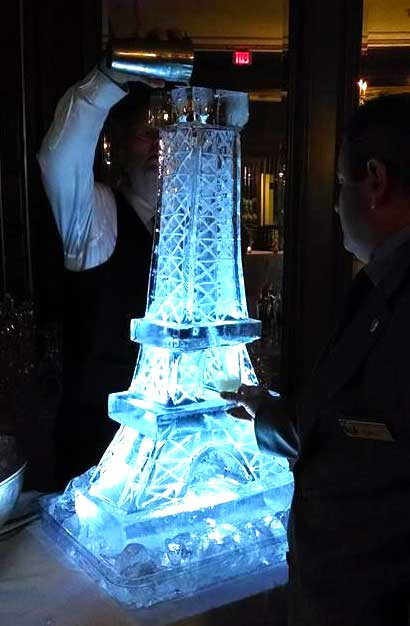 Eiffel Tower Ice Luge
