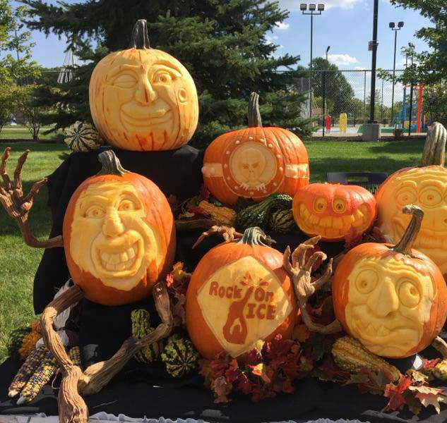 Pumpkin Carving Display