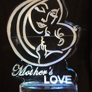 Mother's Love Ice Sculpture