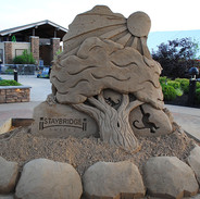 Sand Carving Demonstration