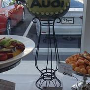 Fruit Carving Audi Logo